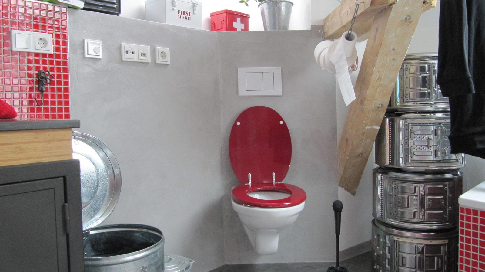 Toilet Beton Cire : Beton cire wall floor maler mittelhessen giessen maler mittelhessen